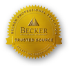 Becker Trusted Source ribbon